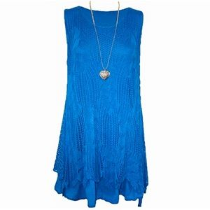 MALAIKA FASHIONS // crochet knit dress